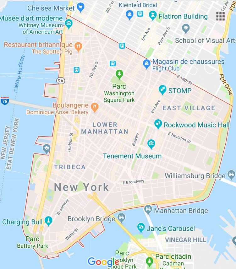 Map Of New York Neighborhoods Manhattan.New York Best Manhattan Neighborhoods Best Areas In Manhattan