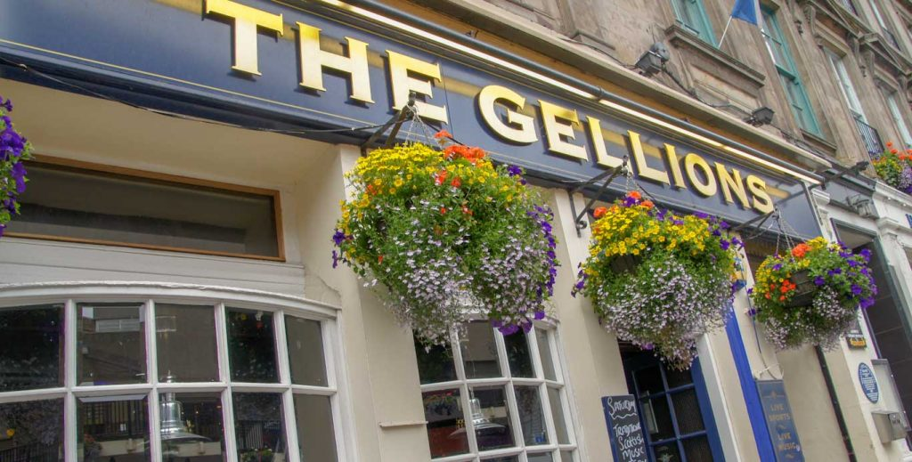 The Gellions Pub in Highlands - Pub music and beers!