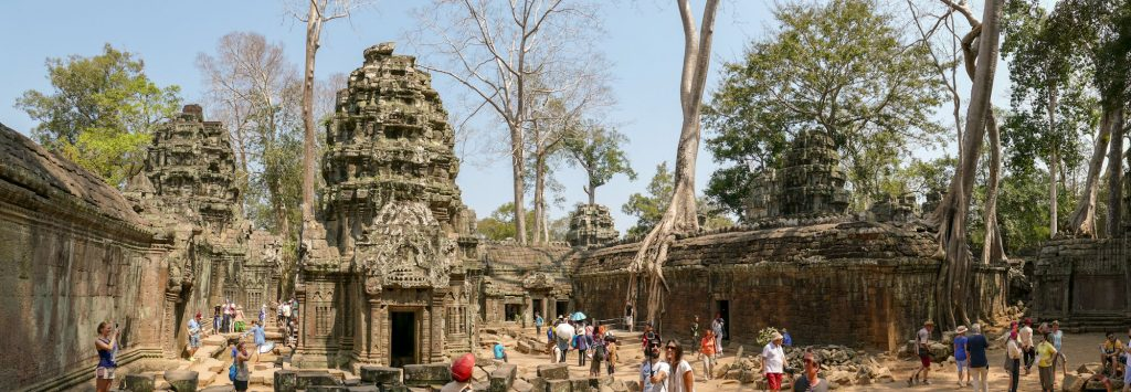 15 days tour Laos Cambodia - My 2 weeks itinerary with map and stages Angkor temples
