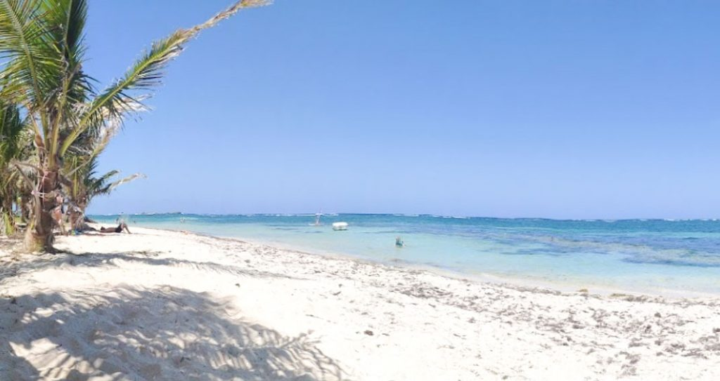 One of the best beaches in Martinique -  The Anse Michel