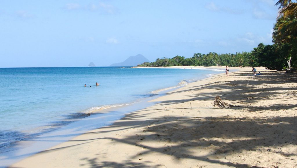 Martinique best beaches -  The Anse Diamant