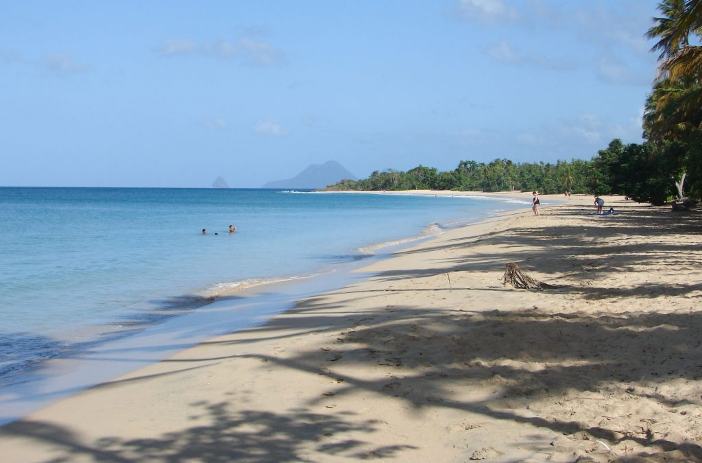 MARTINIQUE in 1 week best beaches