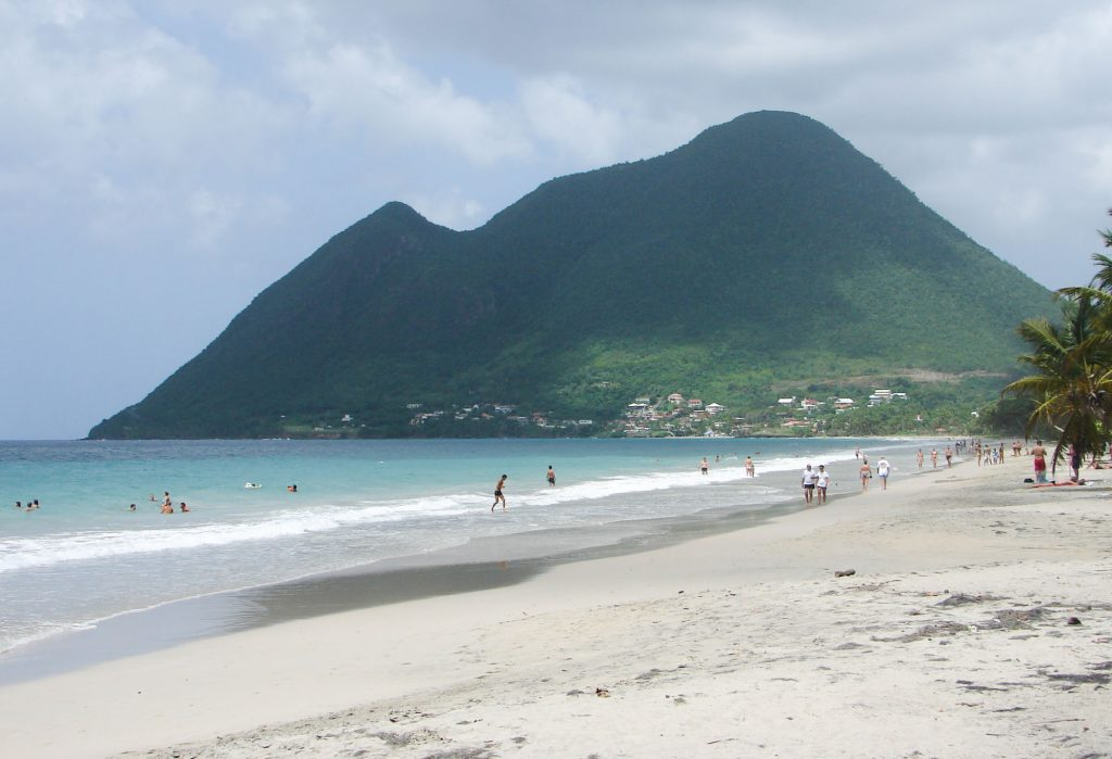 Martinique best beaches - The Grande Anse des Salines ONE OF THE MOST BEAUTIFUL BEACH OF MARTINIQUE