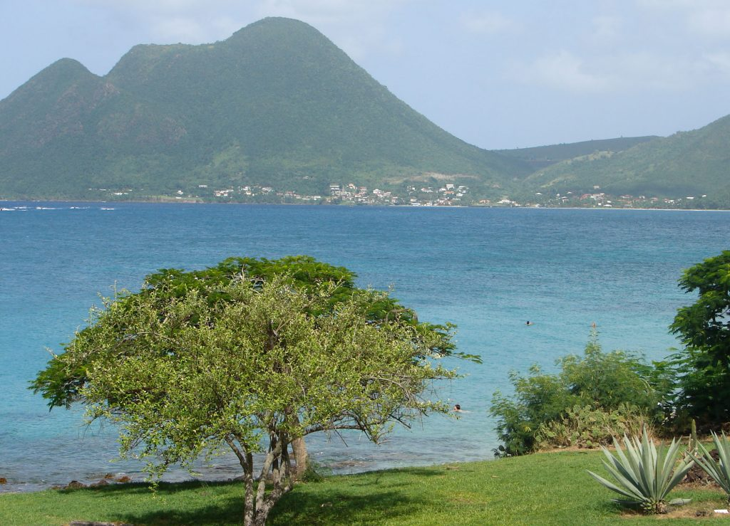 hich coast in Martinique - The South of the island Best beaches