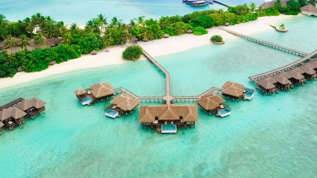 hotel for a romantic honeymoon in the Maldives